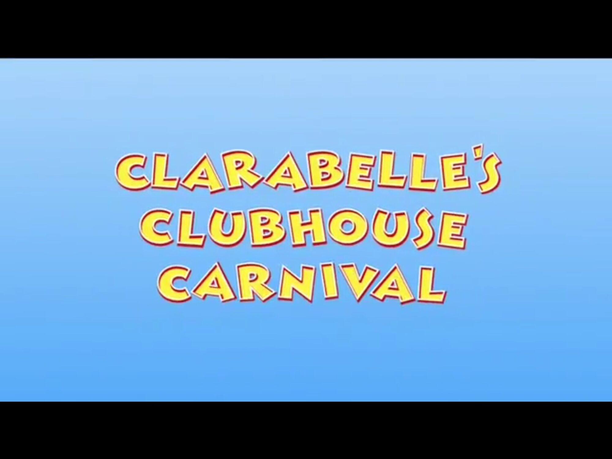 Clarabelle's Clubhouse Carnival