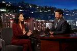 Jenny Slate visits Jimmy Kimmel