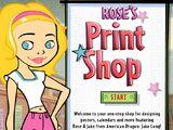 Rose's Print Shop