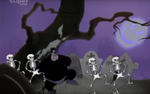 Skeleton Dancers at the House of Mouse