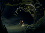 Snow White freaking out