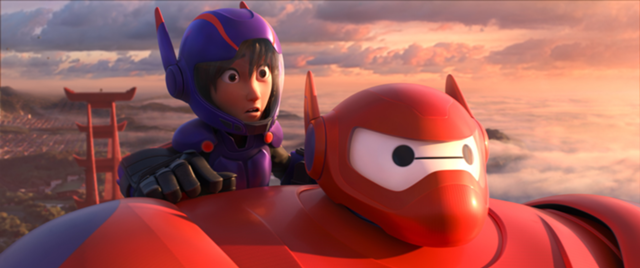 Top of the World (Baymax)