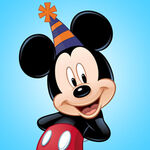 Mickey Birthday Icon