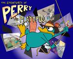 Phineas and Ferb Concept Art - The adventures of Perry