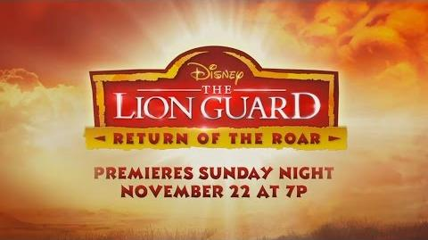 Teaser The Lion Guard Return of the Roar Disney Channel
