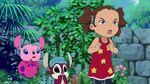 Yuna, Tickle-Tummy and Squeak