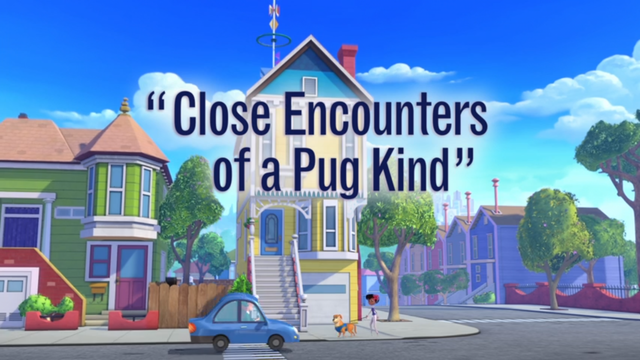 Close Encounters of a Pug Kind