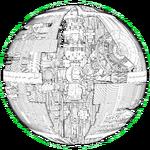 Death Star Schematic Fathead