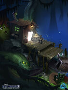 Disney Epic Mickey 2 Concept Art Kevin Chin 08