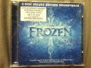 Frozen deluxe soundtrack front