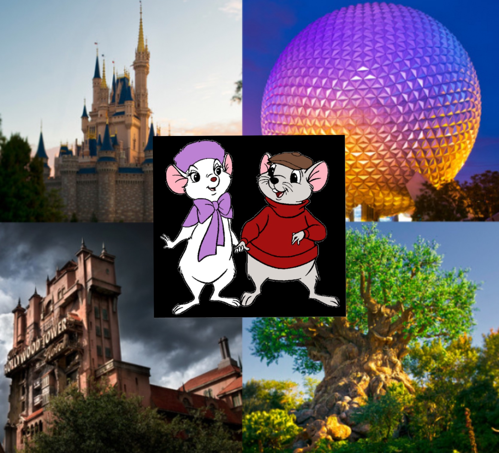 Ratigan6688/Walt Disney World-Bianca Rides or Bernard Rides?