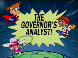 The Governor's Analyst!