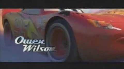 Disney Pixar's Cars Q1 TV Spot Commercial 2006