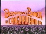 Disney The Rescuers Down Under (1990) - European Portuguese title