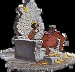 Kinglouie throne