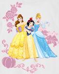 Snow White, Cinderella and Belle