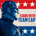 Captain America Civil War - Stand With Team Cap