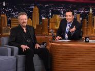 Christopher Walken visits Jimmy Fallon