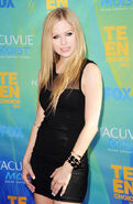 Avril Lavigne Teen Choice Awards11