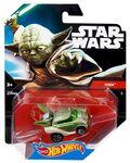 CGW40 Hot Wheels Star Wars Character Car Yoda XXX TFA