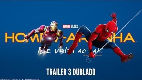 Homem-Aranha De Volta Ao Lar Trailer 3 Dublado 6 de julho nos cinemas
