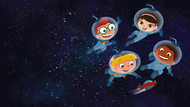 Little Einsteins in space