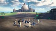 Luke's Jedi academy - LEGO Star Wars Terrifying Tales