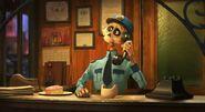 Pixar Popcorn Arrival Agent