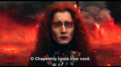 Alice Através do Espelho - Trailer Legendado - 26 de maio nos cinemas