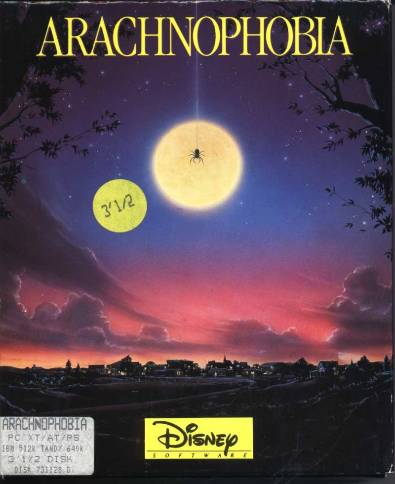 Arachnophobia (video game)