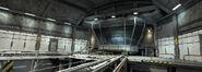 Big Hero 6 - Portal chamber room interior