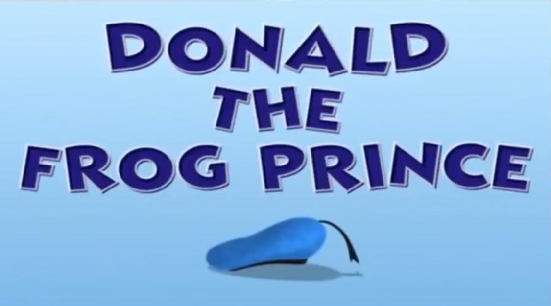 Donald the Frog Prince