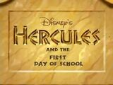 Hercules and the First Day of School