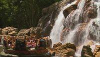 Kali River Rapids Waterfall