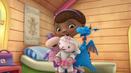 Doc, lambie, stuffy and hallie