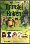 Jungle book swedish poster 1977