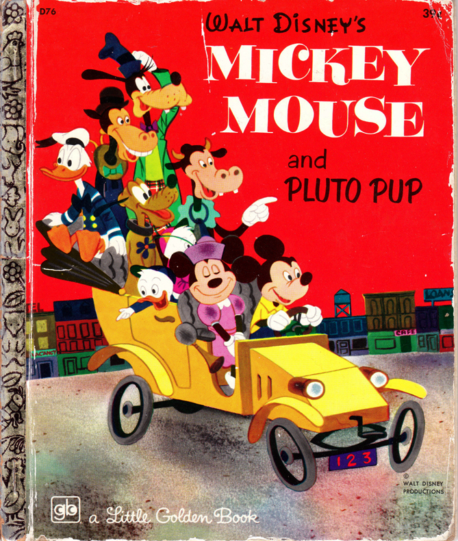 Mickey Mouse and Pluto Pup