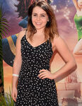 Mae Whitman Tinker Bell Pirate Fairy premiere