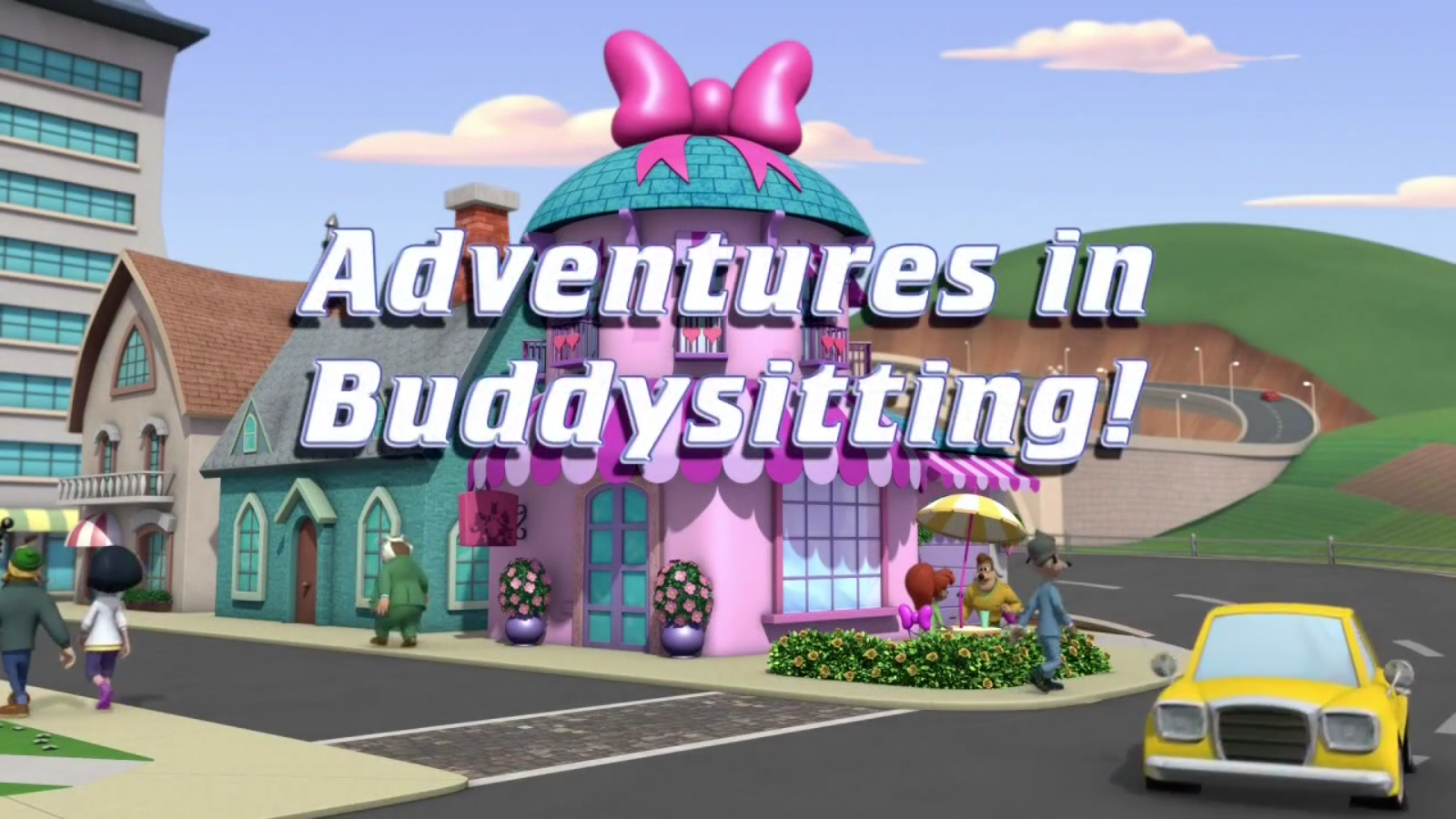 Adventures in Buddysitting!