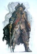 Concept art - Davy Jones