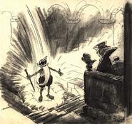 Concept art magia di Merlino (1)