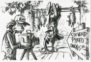 Disney's A Goofy Movie - Storyboard by Andy Gaskill - 8