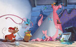 Disney Princess Cinderella's Story Illustraition 7