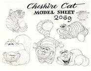 Model sheet - cheshire cat