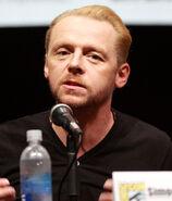 Simon Pegg Comic-Con