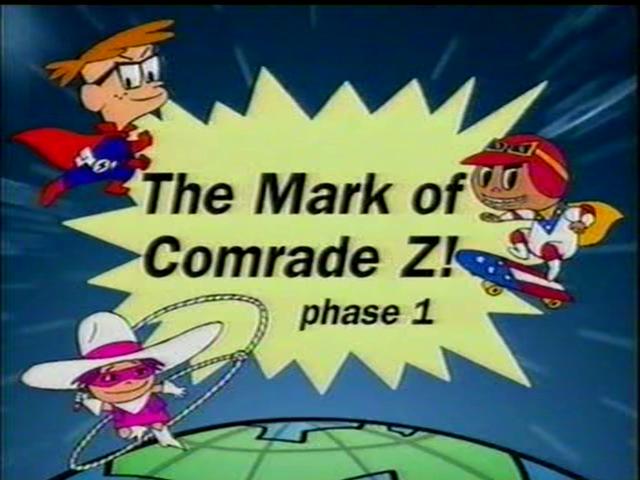 The Mark of Comrade Z!