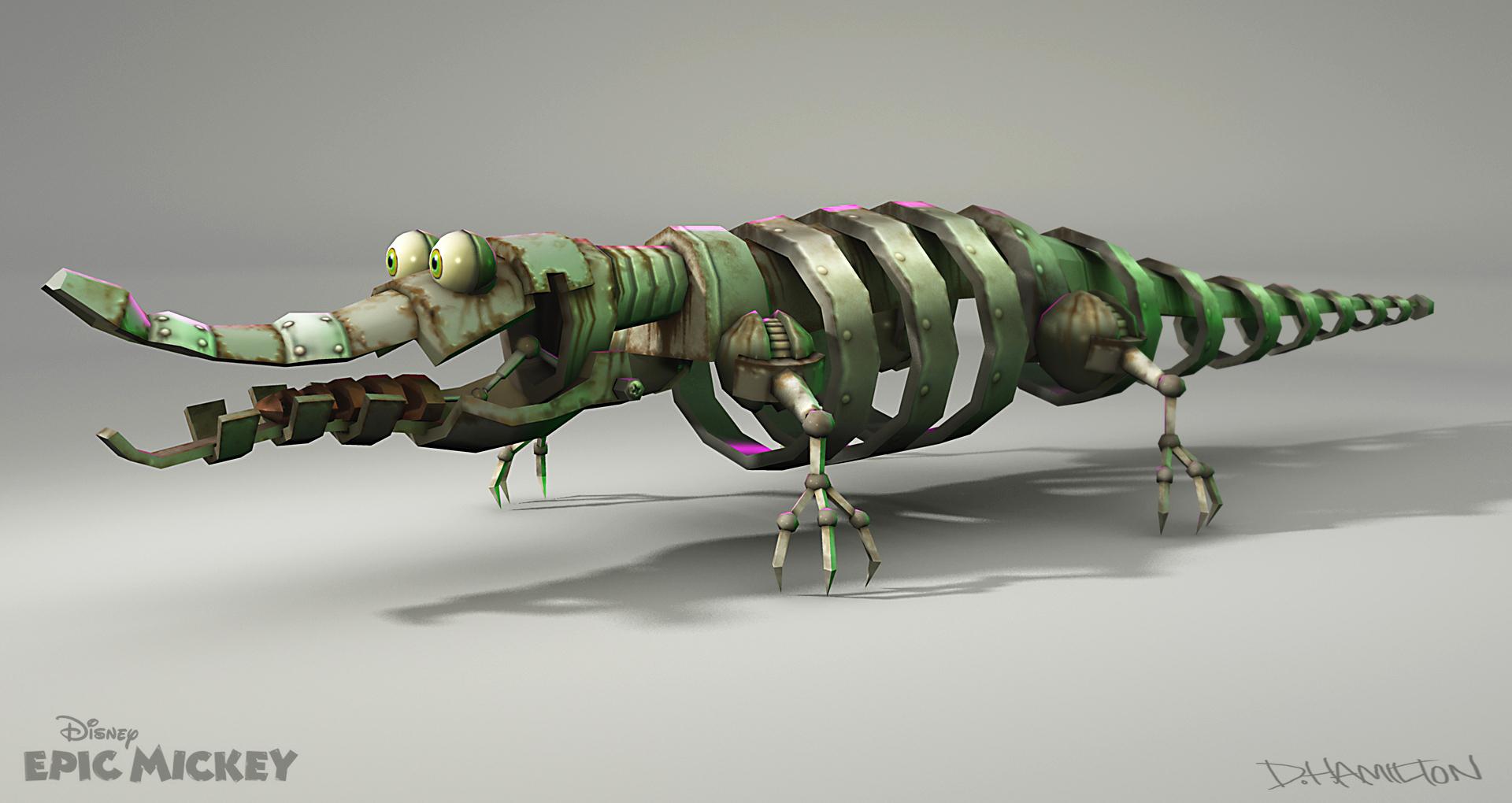 Animatronic Tick-Tock the Crocodile