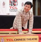 Jackie Chan Chinese Theatre Handprint Ceremony