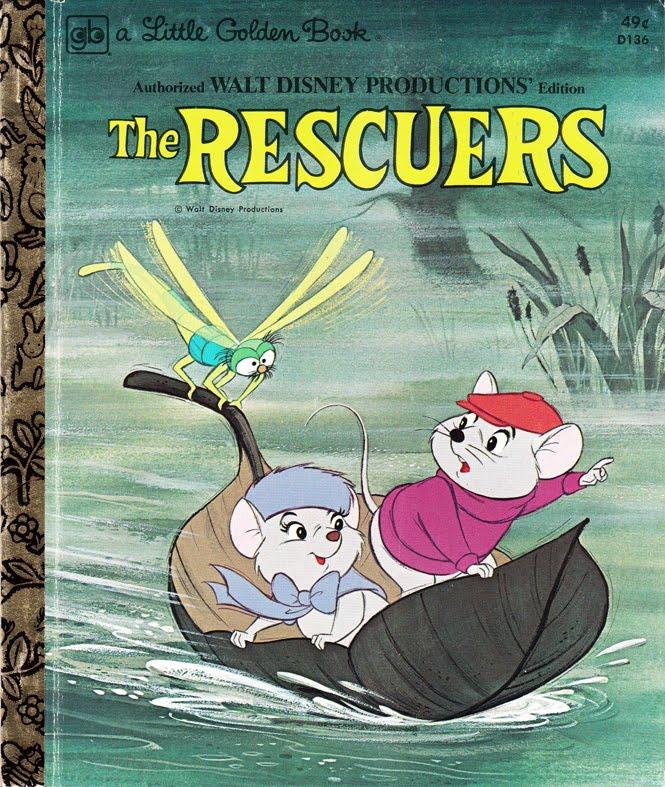 The Rescuers (Little Golden Book)