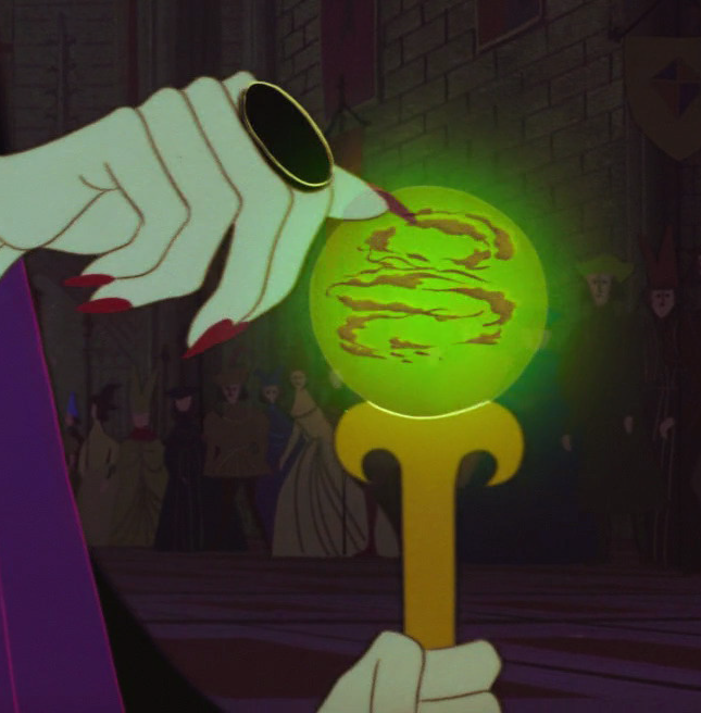 Maleficent's Staff